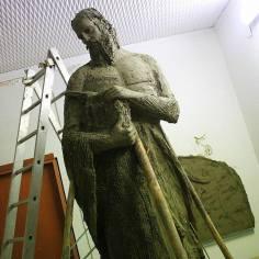 Opera dedicata a Pitagora, realizzata da Gaspare Da Brescia